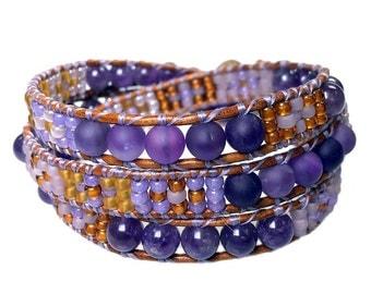 Bracelet classic Amethyst 383