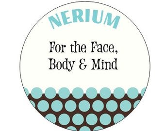 Sticker- Small Nerium