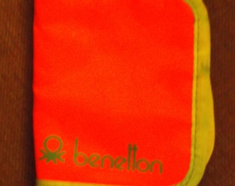 1980s Benetton Red Wallet