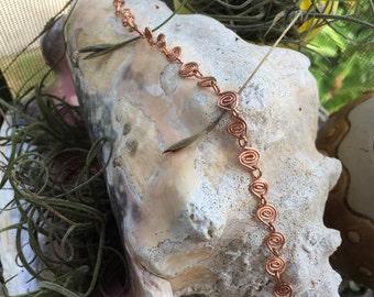 Swirly Chain Bracelet