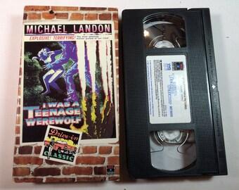 I was a TEENAGE WEREWOLF Michael Landon VHS 1957/91 75 Mins n/r
