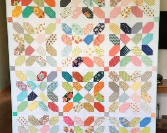 Modern Homemade Quilt