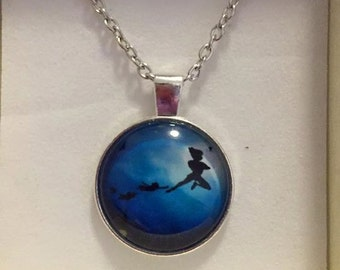 Peter Pan necklace - gift boxed