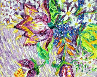 I draw flowers, so they are immortal - Collection