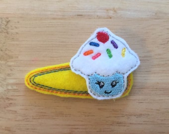 Happy Cupcake Clippie