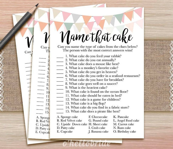 15 Of The Best Bridal Shower Games And Ideas | Wedding Forward