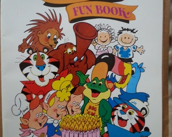 Kellogg's 75th Anniversary Fun Book