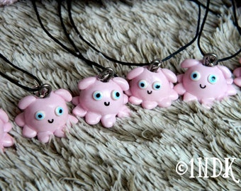 Dumbo Octopus pendant necklace