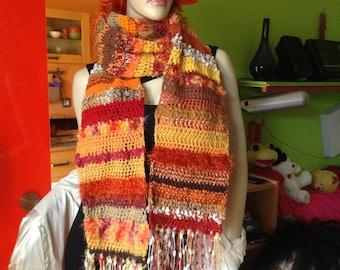 Scarf handmade crochet