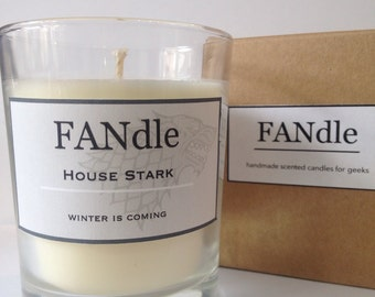 House Stark Game of Thrones Scented Candle