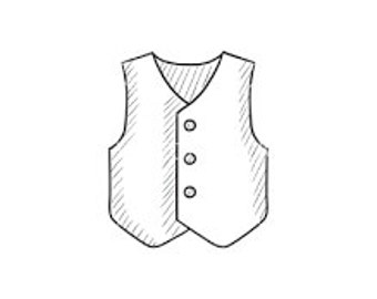 Design your own custom fitted waistcoat in any material
