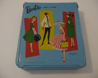 1961 Blue - Barbie Ponytail - Doll Case