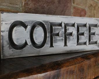 Rustic Kitchen Coffee Sign, Coffee Wall Art Wood Sign, Coffee Decor Coffee Sign,