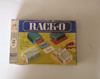 Vintage 1966 rack•o game