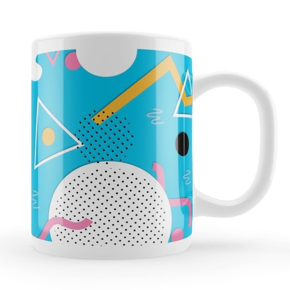 Abstract 80s Art Mug