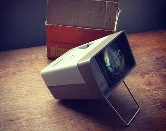 Vintage Photax planet slide projector/viewer