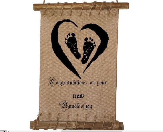 Congratulations On Your New Bundle Of By Burlapnbamboo On Etsy