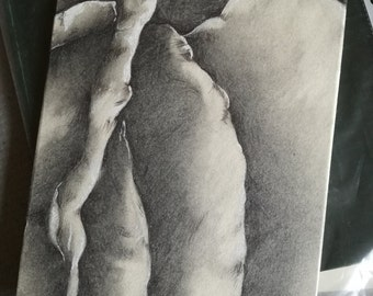 Second Improved Pencil Drawing on MDF
