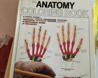 Vintage Anatomy Coloring Book