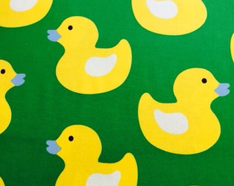 100% cotton Duckling fabric 112cm wide.