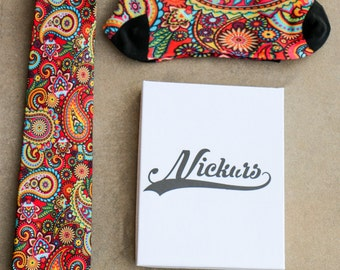 Red Paisley Combo