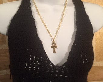 Golden Ankh Necklace