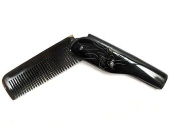 Buffalo horn comb