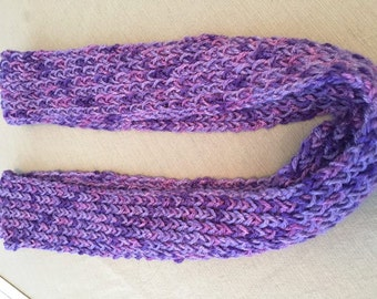 Customizable Knitted Infinity Scarf