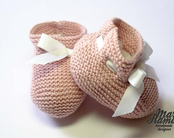 Booties for babies several models