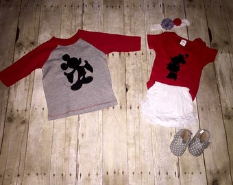 Matching Brother & Sister Disney Tees
