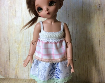 Bjd Littlefee Mori dress set