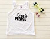 Beach Please Kid Tank