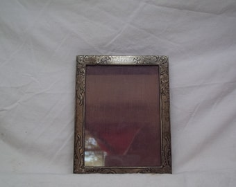 1930s sterling silver picture frame