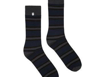 Classic Bamboo Stripes Socks
