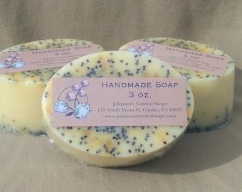 Grapefuit & Poppy Seed Soap