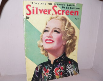 April 1936 Issue of Silver Screen