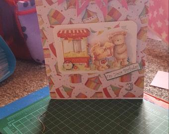 Children's birthday card style 2
