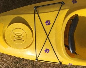Paddling Dogs paws (pack of 12) Dog Vinyl SUP Kayak Canoe Car Sticker Decal Original Design