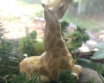 Giraffe Sculpture and Ringholder