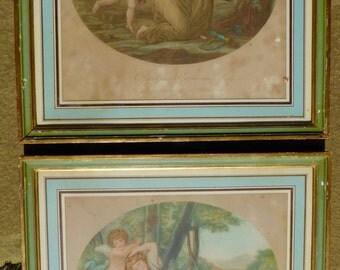 Pair of Angelica Kauffmann Prints