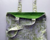 Just a Lil Paris (Green) Tote Bag