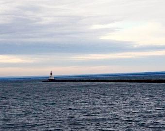 Lighthouse, Marquette, MI.