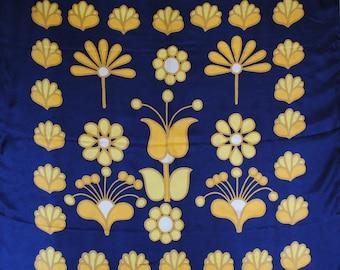 Vintage authentic Pierre Cardin silk scarf