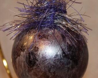 Purple Silver Dream Ornament
