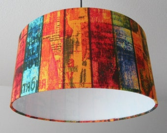 "Lampshade ""Shabby Chic"" (colorful)"