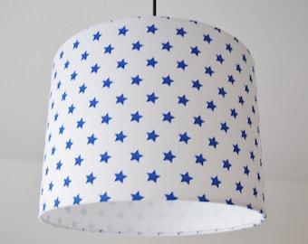 "Lampshade ""Stars"" (blue)"