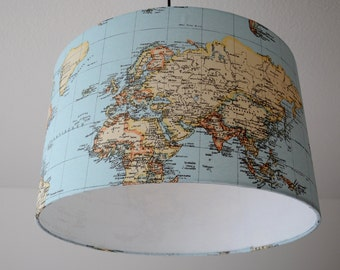"Ceiling lamp ""Worldmap"""