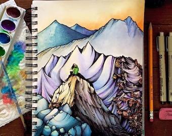Mountain Girl Print