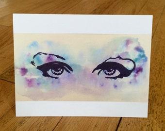 Prince Purple Rain -10 Notecards