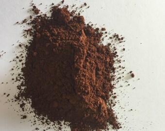 Burnt sienna pigment (100 grams).